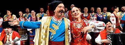 Кубанский казачий хор в Омске 2015